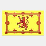 Estándar real de Escocia Pegatina