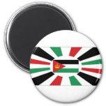 Estándar real de Jordania Imán Para Frigorifico