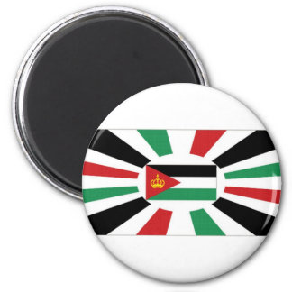 Estándar real de Jordania Imán Redondo 5 Cm