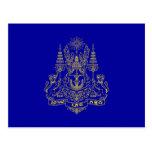 Estándar real del rey Of Camboya, Camboya Postal