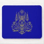 Estándar real del rey Of Camboya, Camboya Alfombrillas De Raton