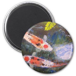 Estanque de peces de Koi Imán Redondo 5 Cm