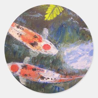 Estanque de peces de Koi