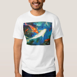 Estanque de peces de Koi Remera