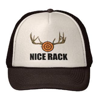 Estante agradable gorras de camionero