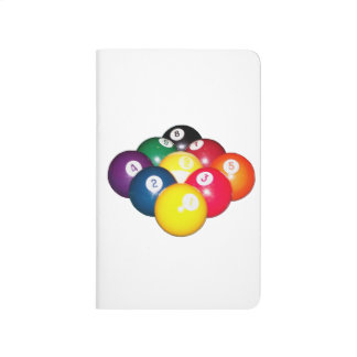 Estante de 9 bolas cuadernos grapados