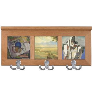 Estante de la capa del arte de Diego Rivera