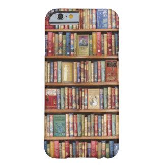 Estante de librería funda de iPhone 6 barely there