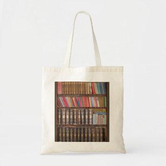 Estante para libros bolsa tela barata