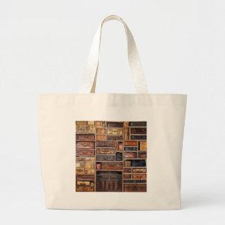 Estante para libros bolsa tela grande