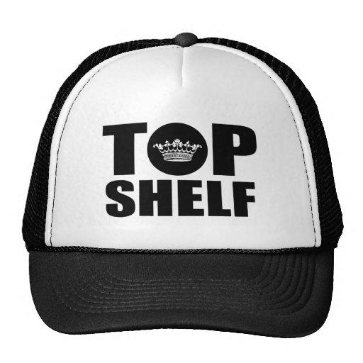 Estante superior gorras