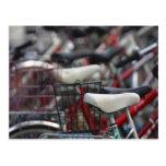 Estantes de ciclo de la bici del ciclo de la bicic postales