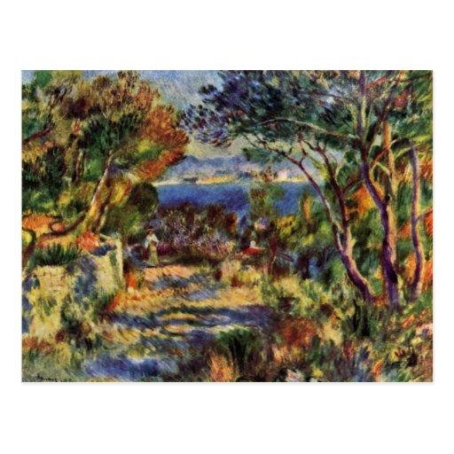 Estaque By Pierre-Auguste Renoir (Best Quality) Postcard