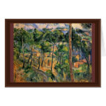 Estaque View Through The Pines By Paul Cézanne Greeting Cards