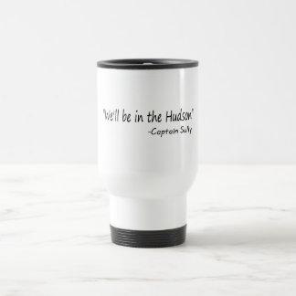 Estaremos en el Hudson (el negro) Taza De Café