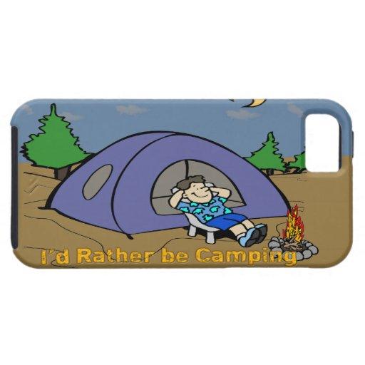 Estaría acampando bastante - el iPhone 5G Ca de la iPhone 5 Fundas