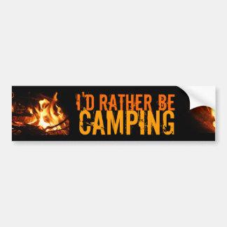 Estaría acampando bastante pegatina para auto