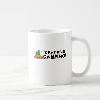 Estaría acampando bastante tazas de café