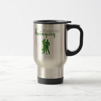 Estaría balanceando bastante tazas de café