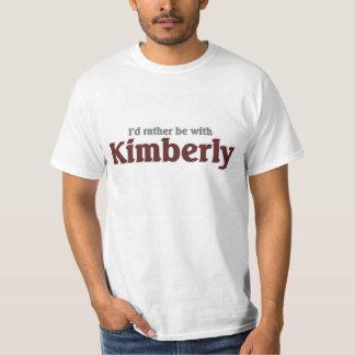 Estaría bastante con Kimberly Playera