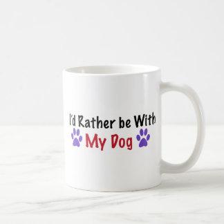 Estaría bastante con mi perro tazas