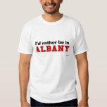 Estaría bastante en Albany Playera