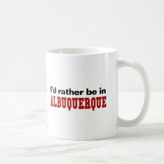 Estaría bastante en Albuquerque Taza De Café