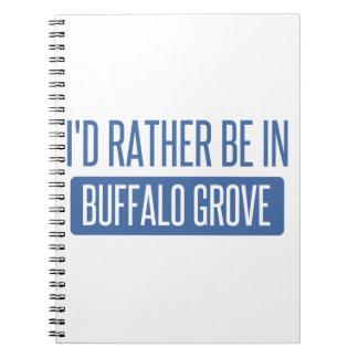 Estaría bastante en arboleda del búfalo notebook