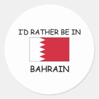 Estaría bastante en Bahrein Etiquetas Redondas