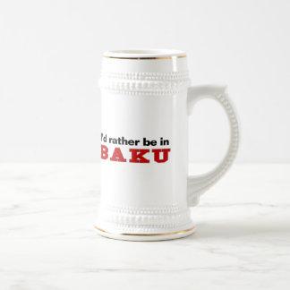 Estaría bastante en Baku Jarra De Cerveza
