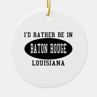 Estaría bastante en Baton Rouge Adorno