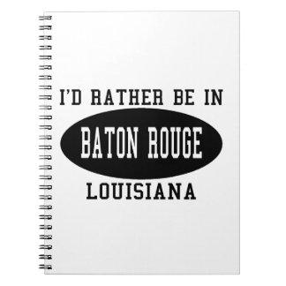 Estaría bastante en Baton Rouge Libretas Espirales