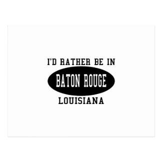 Estaría bastante en Baton Rouge Postales