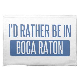 Estaría bastante en Boca Raton Mantel