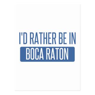 Estaría bastante en Boca Raton Postales