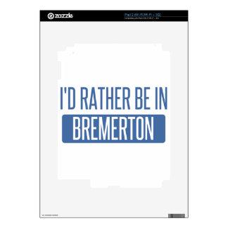 Estaría bastante en Bremerton Calcomanía Para iPad 2