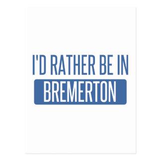 Estaría bastante en Bremerton Tarjeta Postal