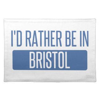 Estaría bastante en Bristol Manteles Individuales