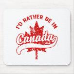 Estaría bastante en Canadá Alfombrillas De Raton