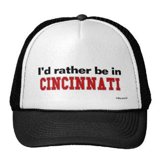 Estaría bastante en Cincinnati Gorras De Camionero