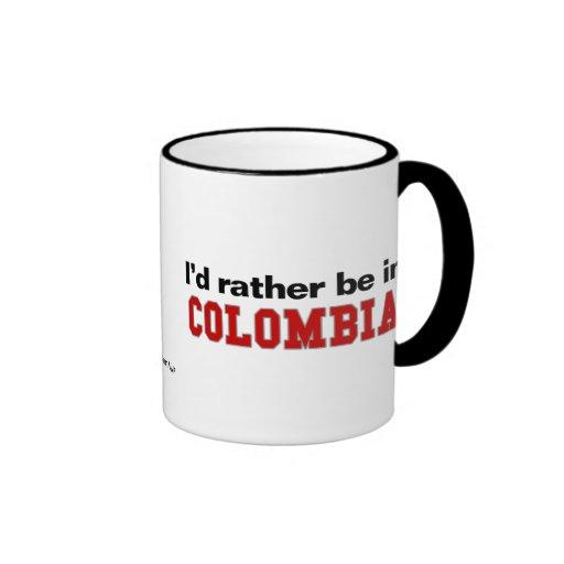 Estaría bastante en Colombia Taza