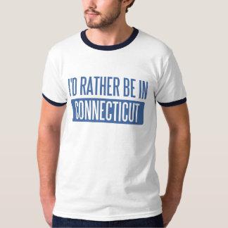 Estaría bastante en Connecticut Playeras