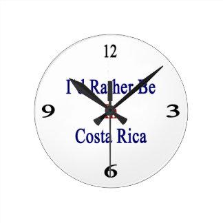 Estaría bastante en Costa Rica Reloj Redondo Mediano