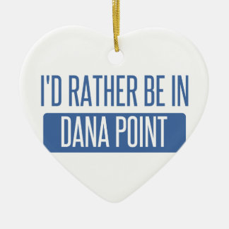 Estaría bastante en Dana Point Adorno Navideño De Cerámica En Forma De Corazón