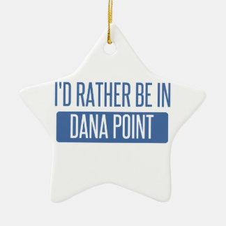Estaría bastante en Dana Point Adorno Navideño De Cerámica En Forma De Estrella