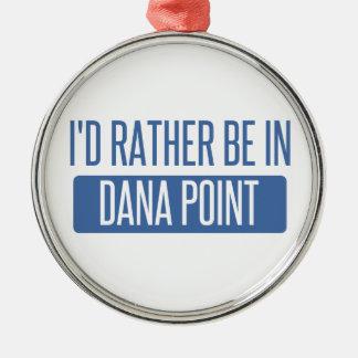 Estaría bastante en Dana Point Adorno Navideño Redondo De Metal