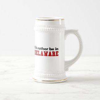 Estaría bastante en Delaware Tazas De Café