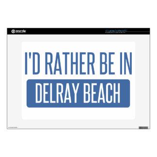 Estaría bastante en Delray Beach 38,1cm Portátil Calcomanía