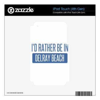 Estaría bastante en Delray Beach Calcomanías Para iPod Touch 4G