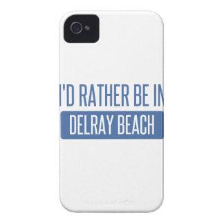 Estaría bastante en Delray Beach Carcasa Para iPhone 4